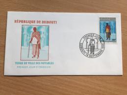 Djibouti Dschibuti 1994 FDC Tenue De Ville Des Notables Mi. 603 - Dschibuti (1977-...)