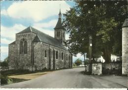 Méan -- L´ Eglise Et Les Tilleuls Séculaires. (2 Scans)