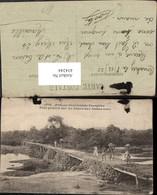 434244,Französisch-Westafrika Afrique Occidentale Francaise Pont Primitif Brücke - Ansichtskarten