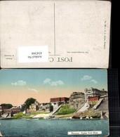 434344,India Benares Varanasi Kaidar Nath Ghat Teilansicht - Indien