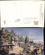 434313,Künstler AK India Benares Varanasi Burning Ghat Teilansicht Pub Raphael Tuck 7 - Indien