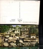 434345,India Bathing In The Ganges At Benares Varanasi Motiv - Indien