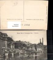 434346,India Benares Varanasi Rama Ghat And Pachganga Ghat Teilansicht - Indien