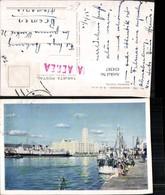434387,Uruguay Montevideo Darsena Fluvial Edificio De La Aduana Hafen Dampfer Boote - Uruguay