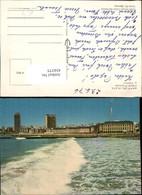 434375,Argentina Mar Del Plata Hotel Provincial Y Casino Teilansicht Welle - Argentinien