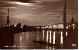 Ostende - Bassin Des Pécheurs Au Clair De Lune (2 Scans) - Oostende