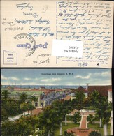 434397,Jamaica Commercial Kingston Teilansicht Palmen - Ansichtskarten