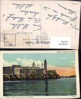434398,Cuba Kuba Habana Havana Morro Castle From The Outside Festung Leuchtturm - Ansichtskarten