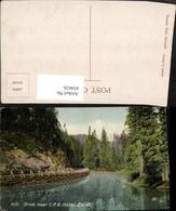 434626,Alberta Banff Drive Near CPR Hotel Straße Fluss - Kanada