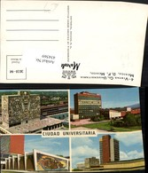 434569,Mexico City Ciudad Universitaria Universitäten Mehrbildkarte - Mexiko