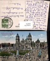 434579,Mexico City La Catedral Y Plaza De La Constitucion Kirche - Mexiko