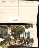 434584,Künstler AK C. X. Carlson Mexico Morelso Cuernavaca Gasse Motiv - Mexiko