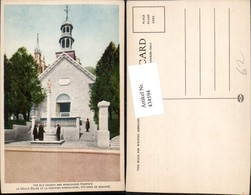 434594,Quebec Sainte-Anne-de-Beaupre Old Church And Miraculous Fountain Kapelle - Kanada