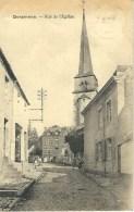 GERPINNES : Rue De L'Eglise - RARE CPA - Edit. Guilmin-Lemal, Gerpinnes - Cachet De La Poste 1921 - Gerpinnes