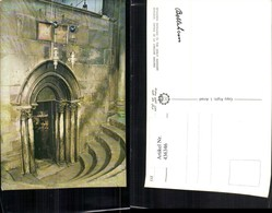 436346,Palästina Bethlehem Entrance To The Holy Manger Eingang Portal - Ansichtskarten