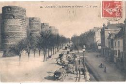 -49- ANGERS  Boulevard Du Château Et Charettes TTB - Les Ponts De Ce