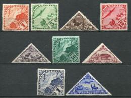 167 TOUVA 1934 - Yvert A 1/9 - Yack Boeuf Chameau Mouflons - Neuf (MNH) Sans Trace De Charniere - Touva