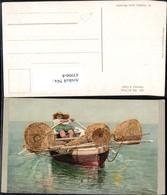 439064,Pecheur A Capri Fischer Ruderboot Boot Volkstypen Europa - Europe