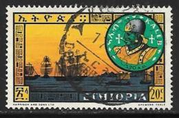 Ethiopia, Scott # 398 Used Kaleb And Sailing Fleet, 1962 - Ethiopia