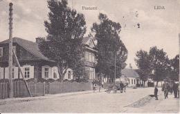 AK Lida - Weissrussland - Postamt - Feldpost Ersatz-Batterie Feldartillerie-Regt. - 1916 (23890) - Weißrussland