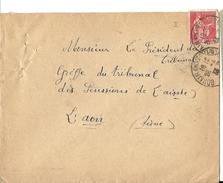 Aisne - Bohain En Vermandois Pour Laon. CàD Type A4 - 1921-1960: Période Moderne