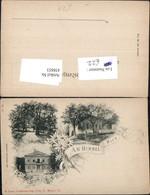 438853,Litho Wien Döbling Am Himmel Restauration Schloss Mehrbildkarte - Wien
