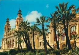 CPM - MONTE-CARLO - Le Casino - Côté Sud - Monte-Carlo