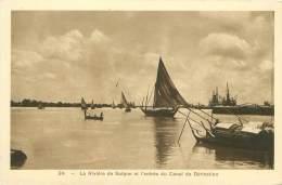 La Rivière De Saïgon Et L'entrée Du Canal De Dérivation - Vietnam