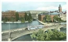 STOCKHOLM - Riksbanken.  Slottet Och Storkyrkan - Sweden
