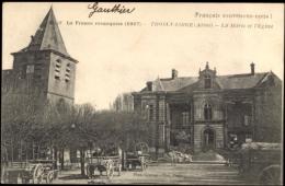 Cp Trosly Loire Aisne, La Marie Et L'Eglise, Karren, La France Reconquise 1917 - France