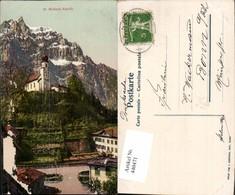 440471,St. Michaels Kapelle Bergkulisse Kt Glarus - GL Glarus