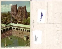 441779,India Madurai Great Temple Dedicated To Goddess Meenakshi Tempel - Indien
