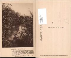 441776,Palästina Palestine Le Jourdain Fluss Partie - Ansichtskarten