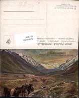441850,Künstler AK Argentina Valle Del Inca Incatal Bergkulisse - Argentinien
