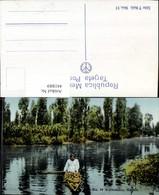 441889,Mexico City Xochimilco Fluss Boot - Mexiko