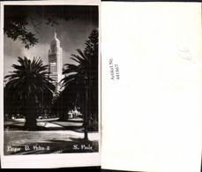 441867,Brazil Sao Paulo Parque Pedro II Park Palmen Gebäude - Brasilien