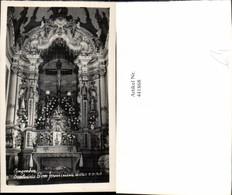 441868,Brazil Congonhas Santuario Bom Jesus Kirche Altar - Brasilien