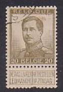 Belgien  101 II ,  O  (H 905) - 1912 Pellens