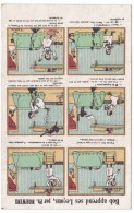 Maison Du Petit Saint-Thomas Paris Department Store Advertising Card, Comic Humor - Advertising