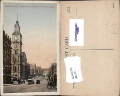 442591,Australia Melbourne Bourke Street Towards Parliament House Straßenansicht - Ansichtskarten