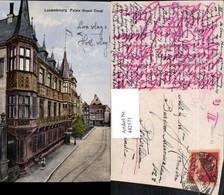 442571,Luxembourg Palais Grand Ducal Erker - Ansichtskarten