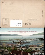 442815,Gibraltar Harbour With The British American And Russian Fleets Hafen Dampfer - Gibraltar