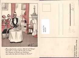 445287,Künstler Ak Reklame Essig Essenz Essen Spruch - Werbepostkarten