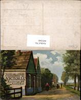 445260,Künstler Ak Reklame Victoria Amsterdam Sluit Uw Leens Verzekering Bij - Werbepostkarten