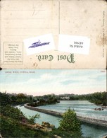 442981,Massachusetts Lowell Canal Walk Kanal - Postcards