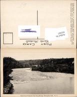 442987,New Brunswick Newcastle View From French Fort Cove Bridge Fluss - Kanada