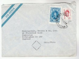 1974 ARGENTINA Air Mail COVER Stamps To GB - Argentine