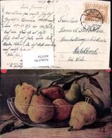 445574,Präge Künstler Ak Stillleben Birnen Obst Obstschale Essen Pub Imita - Küchenrezepte