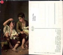 445580,Künstler Ak B. E. Murillo Die Melonenesser Essen Pub Stengel Co 29979 - Küchenrezepte