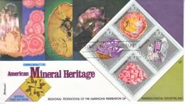US 1541 A  FDC  MINERALS - Minerals